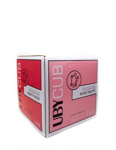 IGP Côtes de Gascogne Uby Rosé 5l