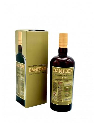 Jamaïque Mélasse Hampden Estate 8 ans...