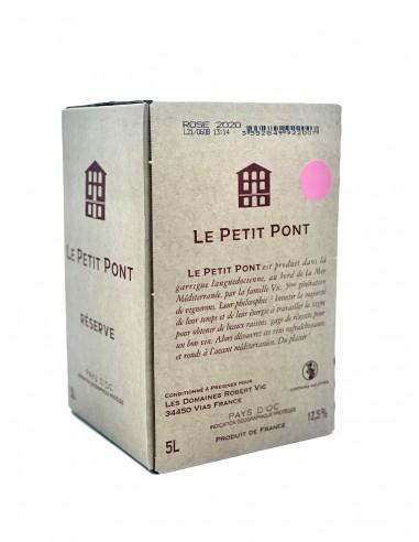IGP D'Oc Le Petit Pont Rosé 5l